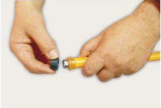 устанавливаем диэлектрическое кольцо